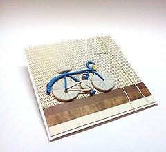 Papiernictvo - Pohľadnica ... bicykel - 11154983_