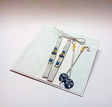 Papiernictvo - Pohľadnica ... sneží ... - 11155005_