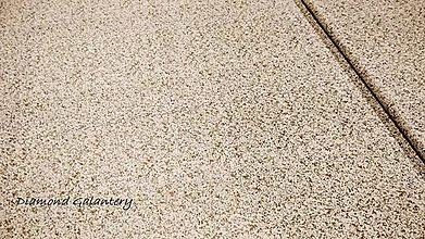 Textil - Bavlnená látka - Béžovo zlatá- cena za 10 cm - 11154754_