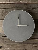 Hodiny - Betónové hodiny N8 - 11153369_