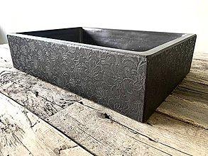Nábytok - Betónové umývadlo WAKA- kvet - 11153422_