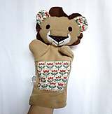 Maňuška lev - Levík z Rozkvitnutej savany