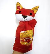 Hračky - Maňuška líška - Lišiačik z Autíčkova - 11154620_