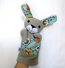 Hračky - Maňuška zajac - Zajko z Belasého lesa - 11156490_