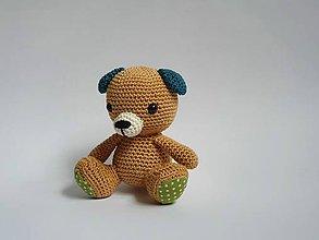 Hračky - Háčkovaný psík - 11156356_