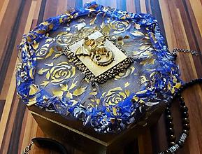 Drobnosti - Šperkovnica -Zlatý drak - 11153070_