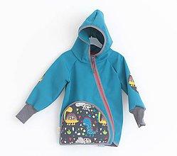 """Detské oblečenie - Softshellka """"happy dino"""" - 11154372_"""