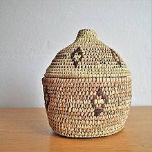 Krabičky - RUSTIK Prútená šperkovnica - 11154488_