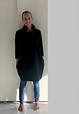 Šaty - Šaty...černé s rolákem.... - 11154078_