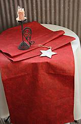 Úžitkový textil - Obrus. Adventná, vianočná, slávnostná štóla. - 11155015_
