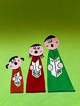 Úžitkový textil - Maľovaný obrus stredový,hráškový, 25 x 140 cm - 11154630_