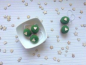 Dekorácie - Zelené - 11155835_