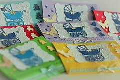 Darčekové poukážky - Pozvánky na krst - 11153759_
