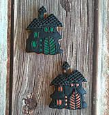 Dekorácie - Perníkový strašidelný dom - 11153973_