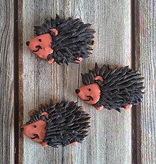 Dekorácie - Perníkový ježko - 11153988_