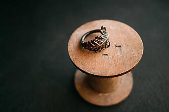 Prstene - Prsteň papraď - 11155438_