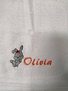 Textil - Detský uteráčik 30x50cm - 11155099_