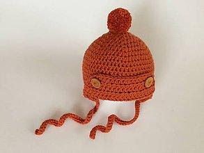 Detské čiapky - Čiapočka pre novorodenca - 11155923_