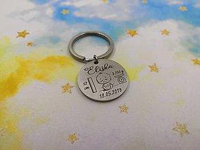 Kľúčenky - Gravírovaná klúčenka (personalizované) - 11153652_