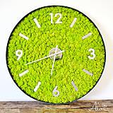 Hodiny - Veľké nástenné machové hodiny - 11156333_