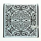 Pomôcky/Nástroje - Šablóna Stamperia - 18x18 cm - Azulejos tiles 2 - 11159445_
