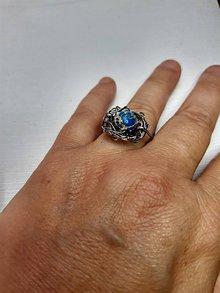 Prstene - prstienok s variscitom - 11157113_