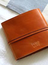 Papiernictvo - Kožený zápisník PUREHOME - 11158290_
