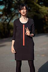Šaty - FNDLK úpletové šaty 427 RVKh - 11157004_