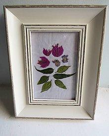 """Obrazy - Kvetinový obraz """"Bugénvilea"""" - 11160891_"""