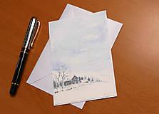 Papiernictvo - Pohľadnica - Zimná krajinka 1 - 11158444_