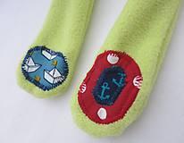 Hračky - Textilné zvieratko - Žabiak námorník - 11160632_