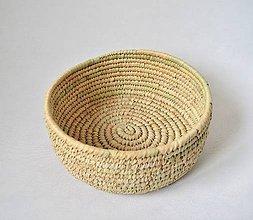 Košíky - Pletený palmový kôšík  (Bohemian) - 11158128_