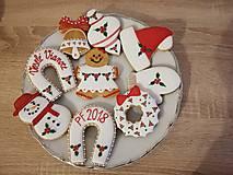 Drobnosti - Vianočné medovníky - 11160203_