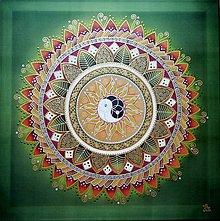 Obrazy - Mandala...Harmónia domova - 11159749_