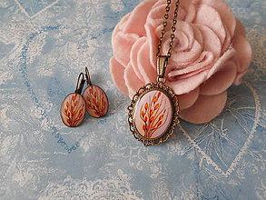 Sady šperkov - Kvietok v obilí ukrytý - 11160371_