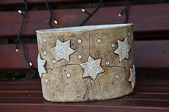 Nádoby - VELKY vánoční obal/nádoba - 11157369_