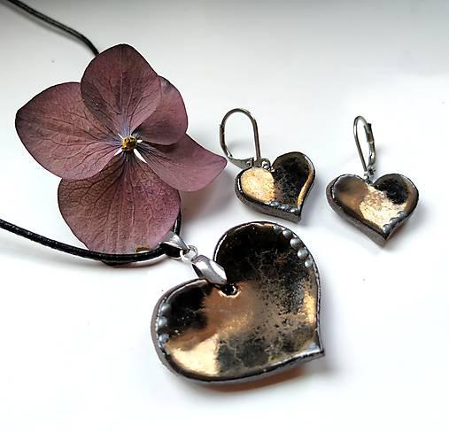 Sada šperkov z keramiky