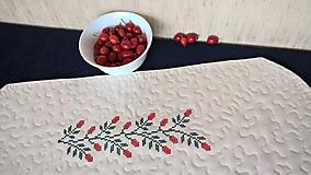 Úžitkový textil - Dečka Obloč - quilt a výšivka - 11157290_