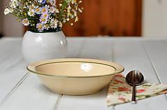Nádoby - Hlboký tanier- minimal - 11158095_