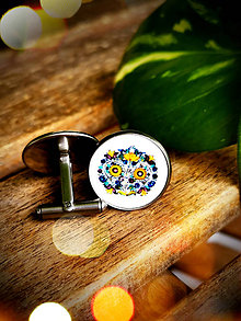 Šperky - Manžetové gombíky Valerián 1 - 11161054_