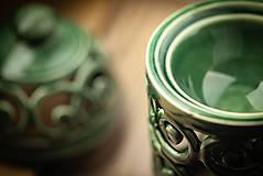 Svietidlá a sviečky - Aromalampa olivová - KVĚT ŽIVOTA - 11158914_