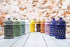 Svietidlá a sviečky - Aromalampa olivová - KVĚT ŽIVOTA - 11158915_