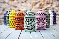 Svietidlá a sviečky - Aromalampa olivová - KVĚT ŽIVOTA - 11158916_