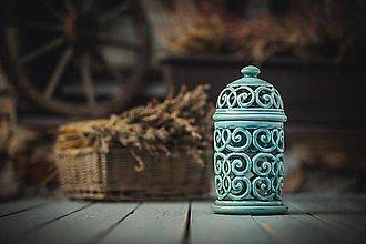Svietidlá a sviečky - Aromalampa mint - 11158922_