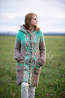 Kabáty - kabátik Emerald spirit - 11160255_