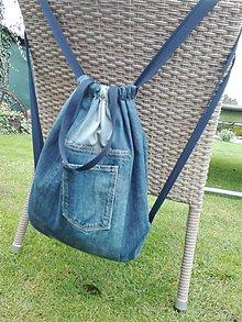 Batohy - Rifľový batoh - aj taška do ruky - 11157571_