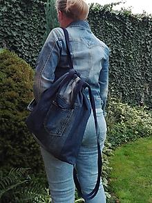 Batohy - Rifľový batoh - aj taška do ruky - 11157573_
