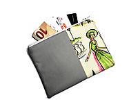 Peňaženky - taštička do kabelky 15,5x11cm - 11160168_
