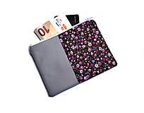 Peňaženky - taštička do kabelky 15,5x11cm - 11160198_