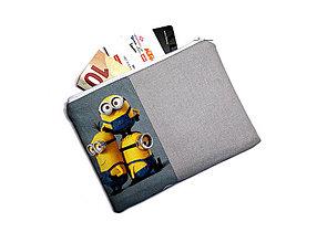 Peňaženky - taštička do kabelky 15,5x11cm - 11160225_
